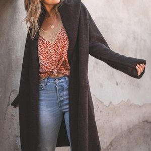 Lovestitch Lennox Sweater Coat Coatigan